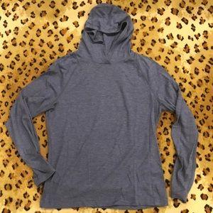 Lightweight Lululemon men's hoodie.